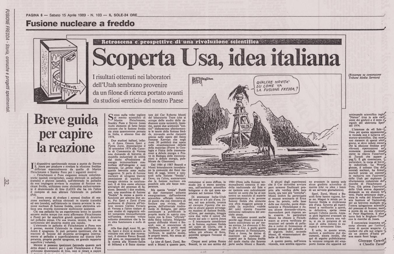 Il Sole 24 Ore 15 Aprile 1989