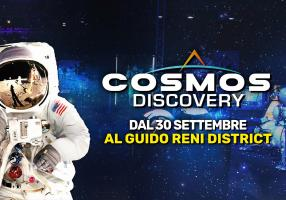 "ROMA: NEXUS PARTECIPA ALLA MOSTRA ""COSMOS DISCOVERY"" AL GUIDO RENI DISTRICT"