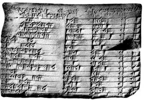 PLIMPTON 332: THE BABYLONIAN TABLET THAT HAS REVOLUTIONIZED (REALLY?) THE HISTORY OF SCIENCE
